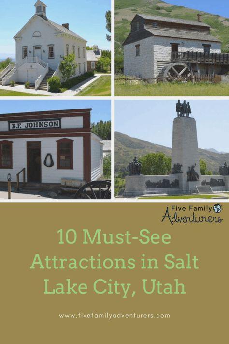 10 Must-See Salt Lake City Attractions, Utah - Five Family Adventurers