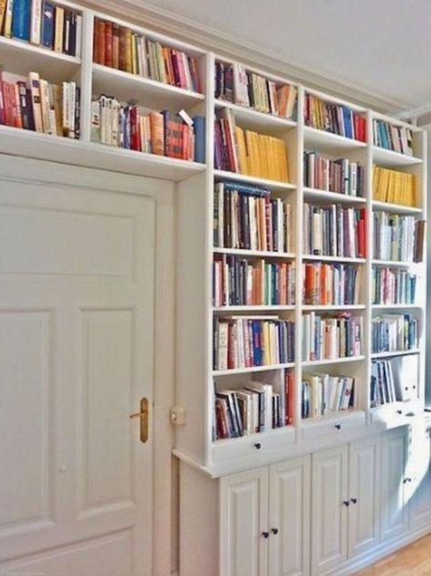 Cómo poner librerías en tu salón de manera elegante   Billy ...
