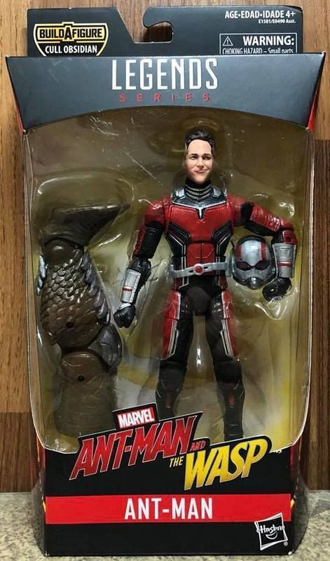 "Marvel Legends 6/"" scale figure Antman Cull Obsidian series complete excellent"