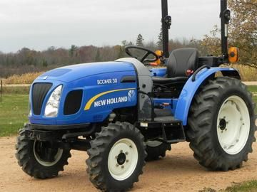 New Holland Boomer 30 35 Compact Tractor Illustrated Parts Catalog Manual New Holland Boomer Tractors Compact Tractors