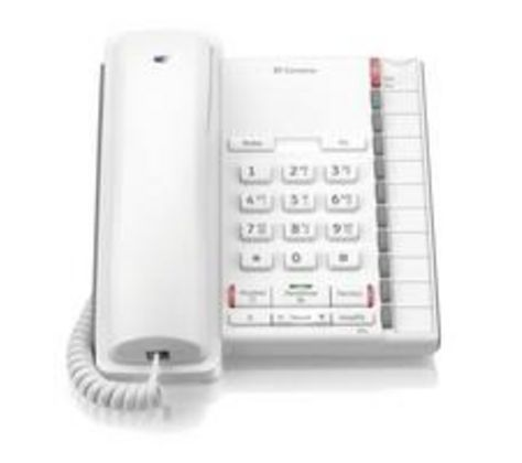 Converse 2200 Corded Phone White 040207 Phone Hard Of Hearing Corded Phone
