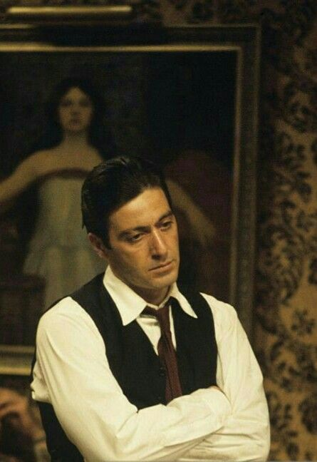 Al Pacino As Michael Corleone In The Godfather El Padrino