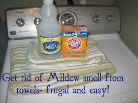 How To Get Rid Of Mildew Smell From Towels Mildew Smell Mildew Remover Mold In Bathroom