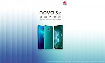 إقتراب موعد الكشف عن هاتف هواوي نوفا 5z Nova Huawei Phone Electronic Products