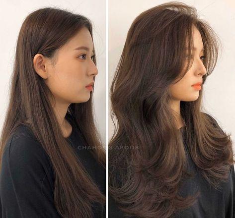 Haircuts For Long Hair, Long Hair Cuts, Hairstyles With Bangs, Layered Hair Hairstyles, Haircut Long Hair, Hairstyle For Long Hair, Cute Medium Haircuts, Hair Styls, Best Long Haircuts