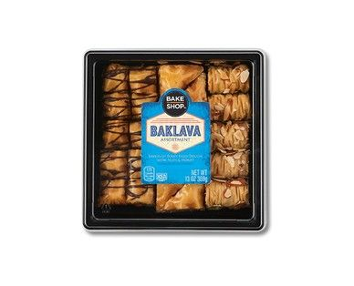 Bake Shop Assorted Baklava Aldi Us Dog Food Recipes Baklava Food