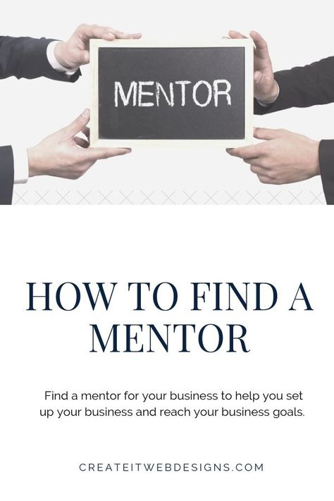 How To Find A Mentor in 2019