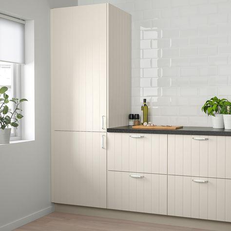 Ikea Hittarp Off White Door In 2020 Ikea Tempered Glass Door Ikea Kitchen