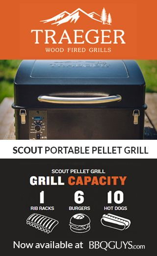 Traeger Scout Portable Tabletop Wood Pellet Grill