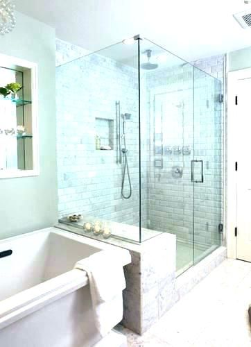 Master Bath With Shower Only Best Small Bathroom Ideas Master Bath