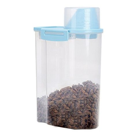 Pission Pet Food Storage Container With Graduated Cup And Https Www Amazon Com Dp B0 Pet Food Storage Container Airtight Pet Food Storage Pet Food Storage