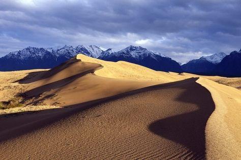 Chara desert in Siberia