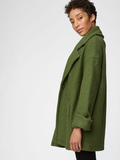 *affiliate link* I love this green coat/jacket from ethical retailer Thought