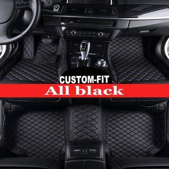 Custom Made Car Floor Mats For Ford Ecosport Fiesta Edge Escape Kuga Fusion Mondeo Explorer Focus 5d Car Styling Carpet Liners