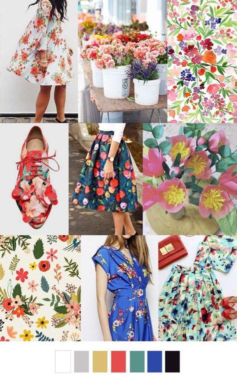 FLOWER MARKET (pattern curator) | Pattern Design | Fashion ...