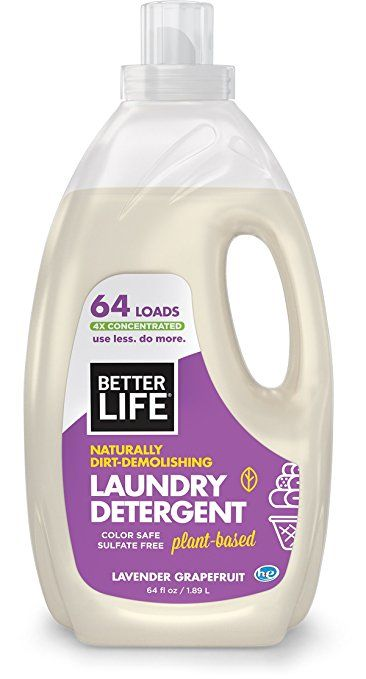 Better Life Laundry Detergent Lavender Grapefruit 64 Ounces