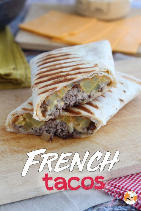 French Tacos French Tacos Tacos In 2020 Mexican Food Menu Tacos And Burritos Tacos