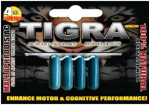 Tigra Economic Pack - 4 Sex Pills  at $14.95 only.     No more worries, no prescription required. Find out all the facts here: http://www.mytigra.com/#!order-now