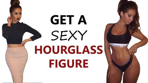 How To Get An Hourglass Figure ♡ | 4 Exercises To Get Curve