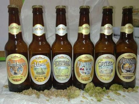 Six Types Of Traditional English Beer Seis Tipos De Cervezas