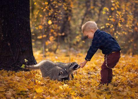 Fotografias crianças e animais (20)