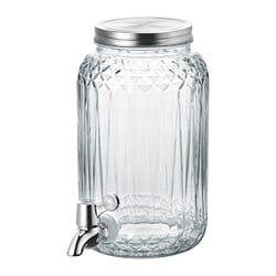 Frische Einrichtungsideen Und Erschwingliche Mobel Glass Beverage Dispenser Drink Dispenser Clear Glass