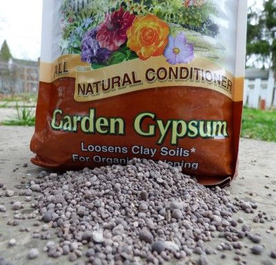 What Is Gypsum Using Gypsum For Garden Tilth Amending Clay Soil