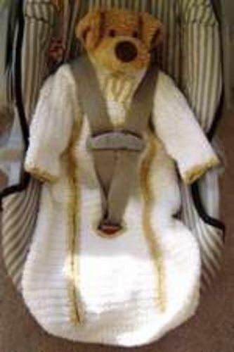 Ravelry: Baby Car Seat Sleepsuit pattern by Jill Wright
