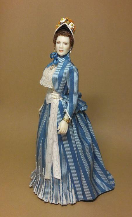 Begonia 1 12 Scale Doll 1 885 Work By Maria Jose Santos Courtesy Of The Author Porcelaindollval Edwardian Era Fashion Fashion Dolls Victorian Dolls