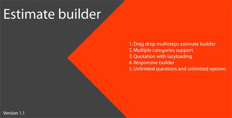 Estimate Builder by kmb645