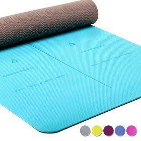 Travel Yoga Mat Diy Travel Yoga Mat In 2020 Eco Friendly Yoga Mats Large Yoga Mat Yoga Mats Best