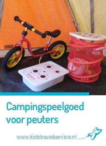 Campingspeelgoed voor peuters & kleuters