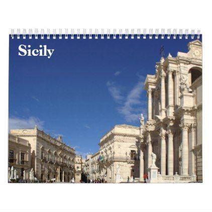Sicily 2020 Calendar Zazzle Com Customizable Calendar Photo Calendar Sicily