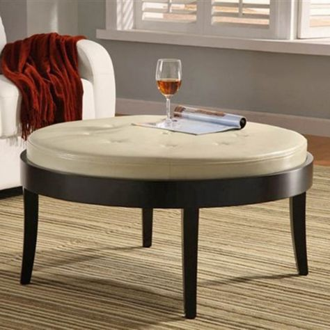 Removable Top Cushion Transitions From An Ottoman To A