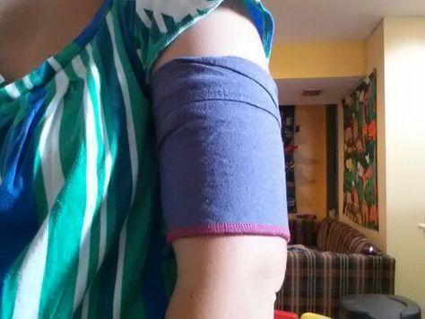 DIY cellphone armband