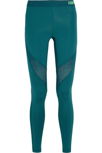 Nike | Pro Hypercool stretch-jersey leggings | NET-A-PORTER.COM