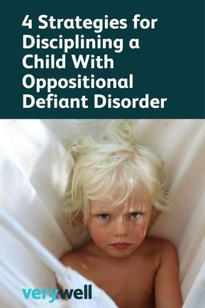 Strategies for Parenting a Child With Oppositional Defiant Disorder