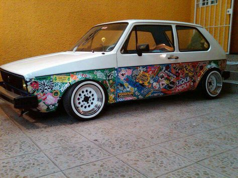 sticker bomb! Volkswagen euro Pinterest Sticker bomb, Vw and - küchen hängeschränke günstig