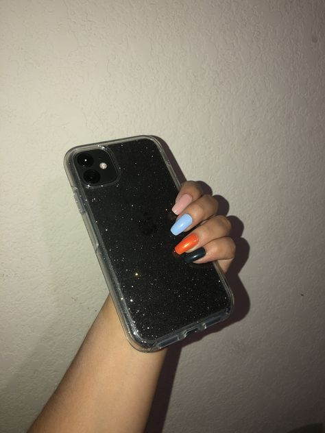 iPhone Case and Nails (OtterBox Symmetry Case)