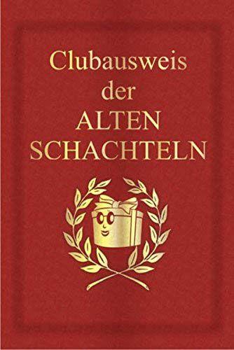 Buch Clubausweis Der Alten Schachteln Lustige Geschenke Fur