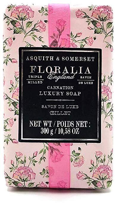 Asquith Somerset Floralia England Carnation Luxury Soap Bar