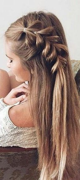 35 Easy Summer Hairstyles That You Simply Can T Miss For Summer 2019 Love Casual Style Summer Hairstyles Easy Summer Hairstyles Easy Curled Hairstyles