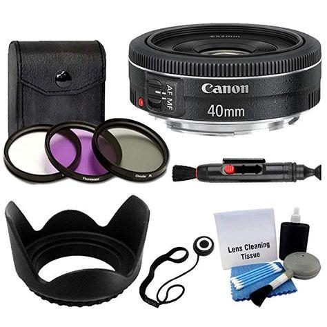 Tulip Lens Hood Macro Kit 55mm Filter Kit Lens Pen Flash Soft-Light Cover 3pc Cleaning Kit Dust Blower