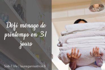 Defi Menage De Printemps En 31 Jours Laure Ganisatrice En 2020 Menage Rangement Et Tri Laura Lee