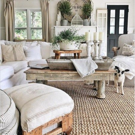 30 Charming Farmhouse Decor Ideas For Your Tiny House 1 Kp D In 2020 French Country Decorating Living Room Farmhouse Style Living Room French Country Living Room