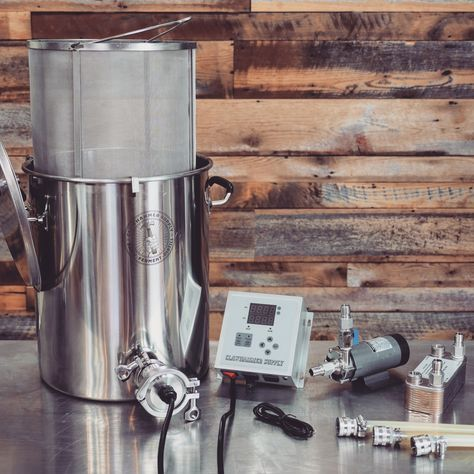 10 Gallon Electric Home Brewing System 120v Biab Home Brewing Beer Home Brewing Brewing Beer Diy