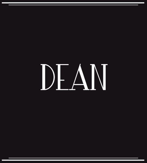 Dean - Baby Boy Names Inspired by Old Hollywood - Photos
