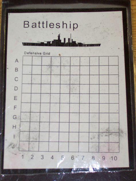 Printable Battleship Game Kids stuff Pinterest Educación