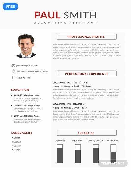 Resume Template Word Accountant Resume Cv Template Resume Template Downloadable Resume Accountant Resume Resume Template Word Cv Template Word