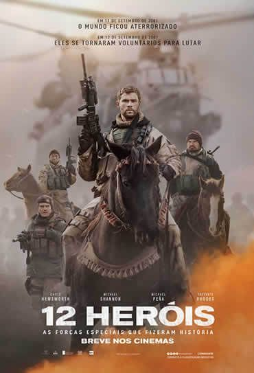Chris Hemsworth No Trailer Do Filme 12 Herois Filmes Online